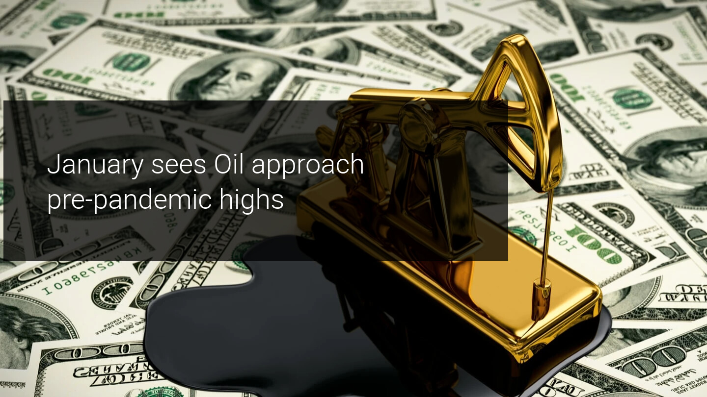 The price of oil recovers and reaches new highs of almost 12 months
