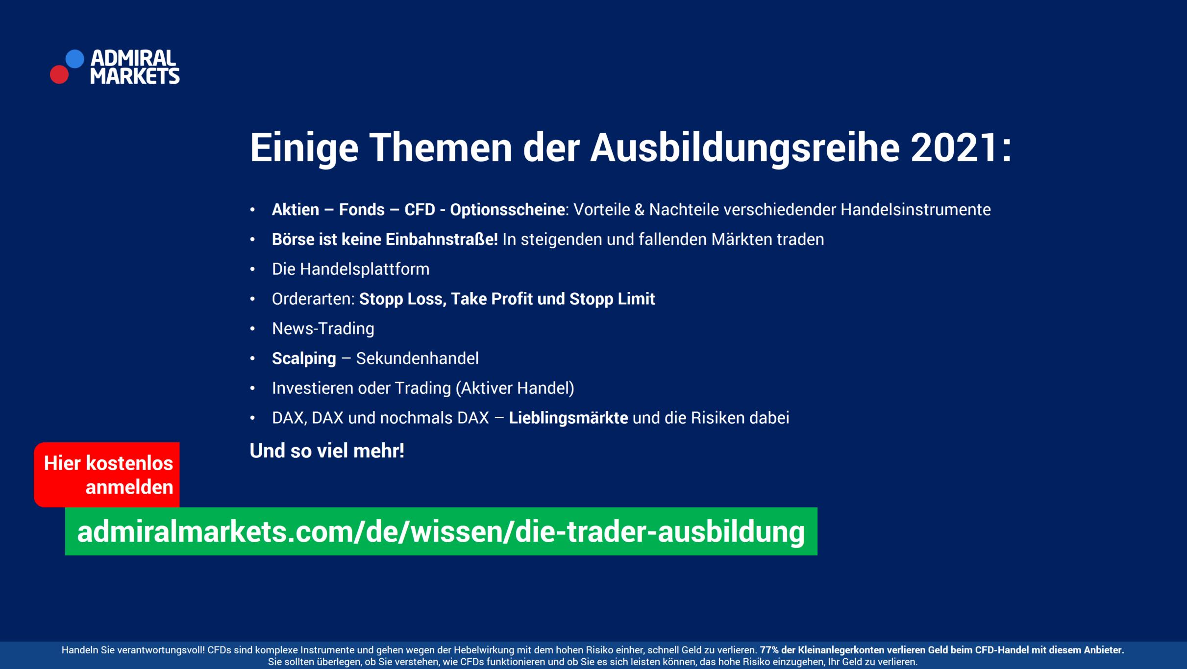 Börse für Anfänger - Trading Lernen2021