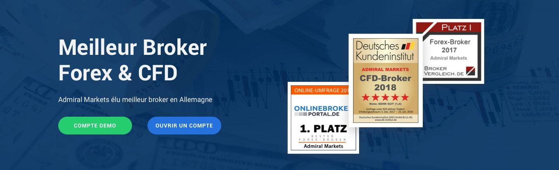 trader avec un broker forex primé