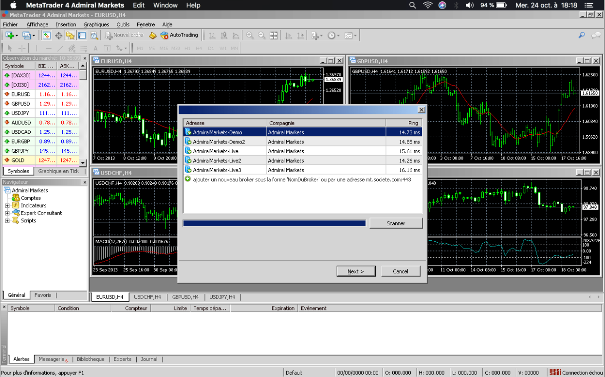 metatrader 4 apple mac