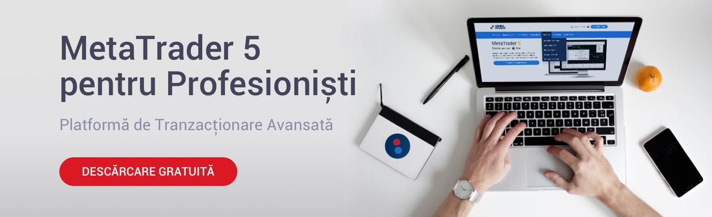 platforma de tranzactionare pentru profesionisti metatrader 5