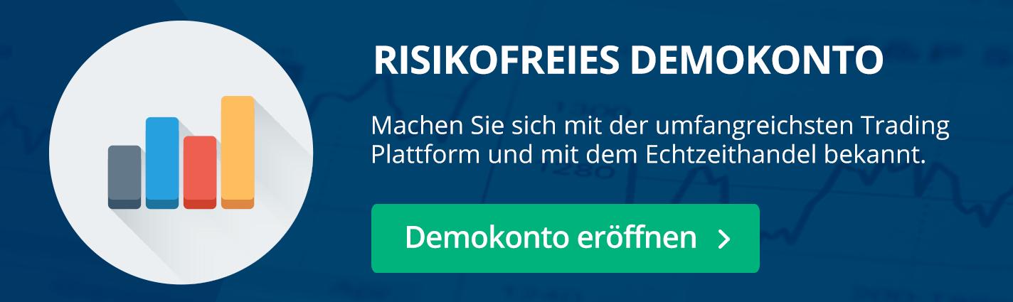Risikofreies Demokonto, ohne Kosten und Gebühren - Testen Sie DAX Indexhandel!