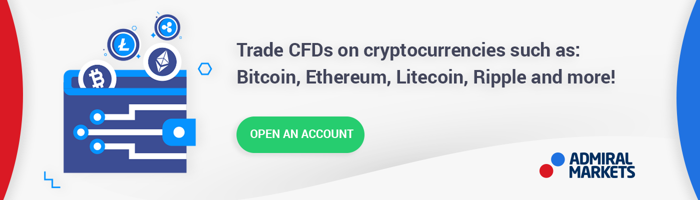 Open an account and begin trading CFDs on crypto today!
