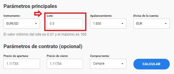 calculadora forex