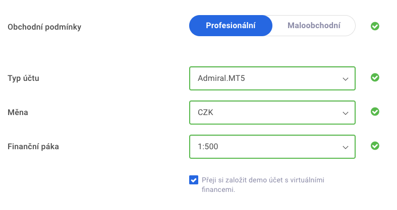 metatrader 5 demo účet na macu