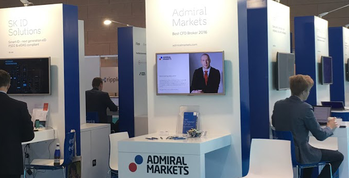 Admiral Markets na Money 20/20