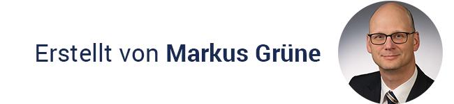 Autor der aktuellen Analyse: Markus Grüne