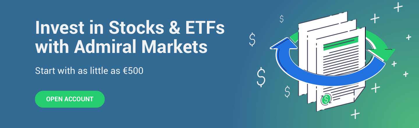 Invest In Stocks & ETFs With Admiral Markets