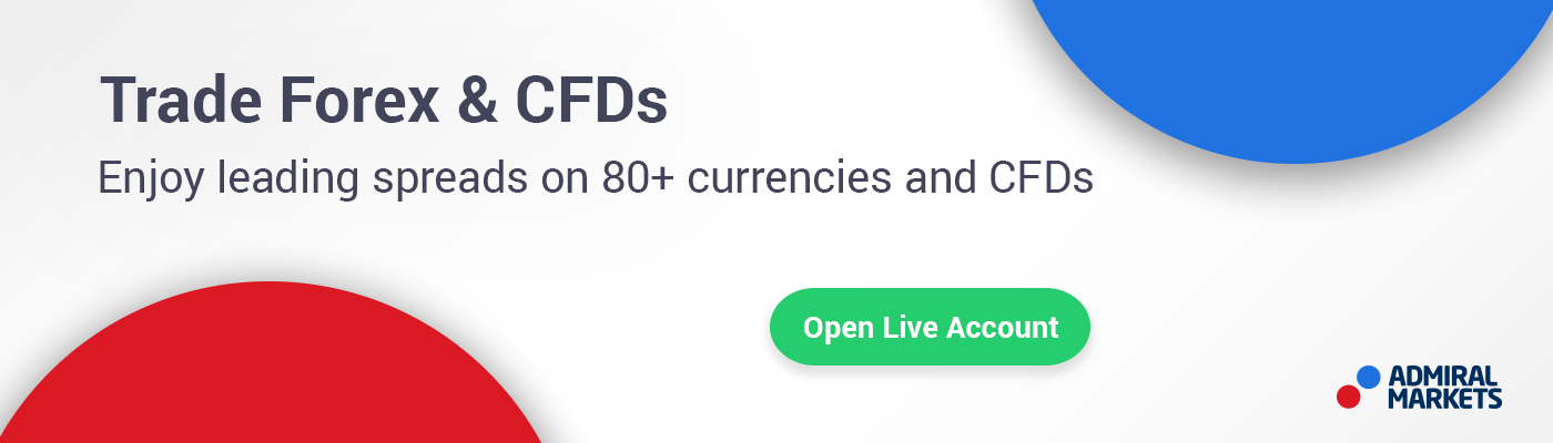 Open a live account and begin trading Forex toady!
