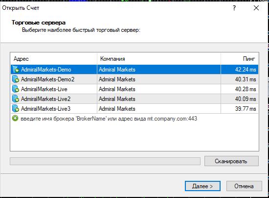 Как выбрать правильный торговый сервер МТ4