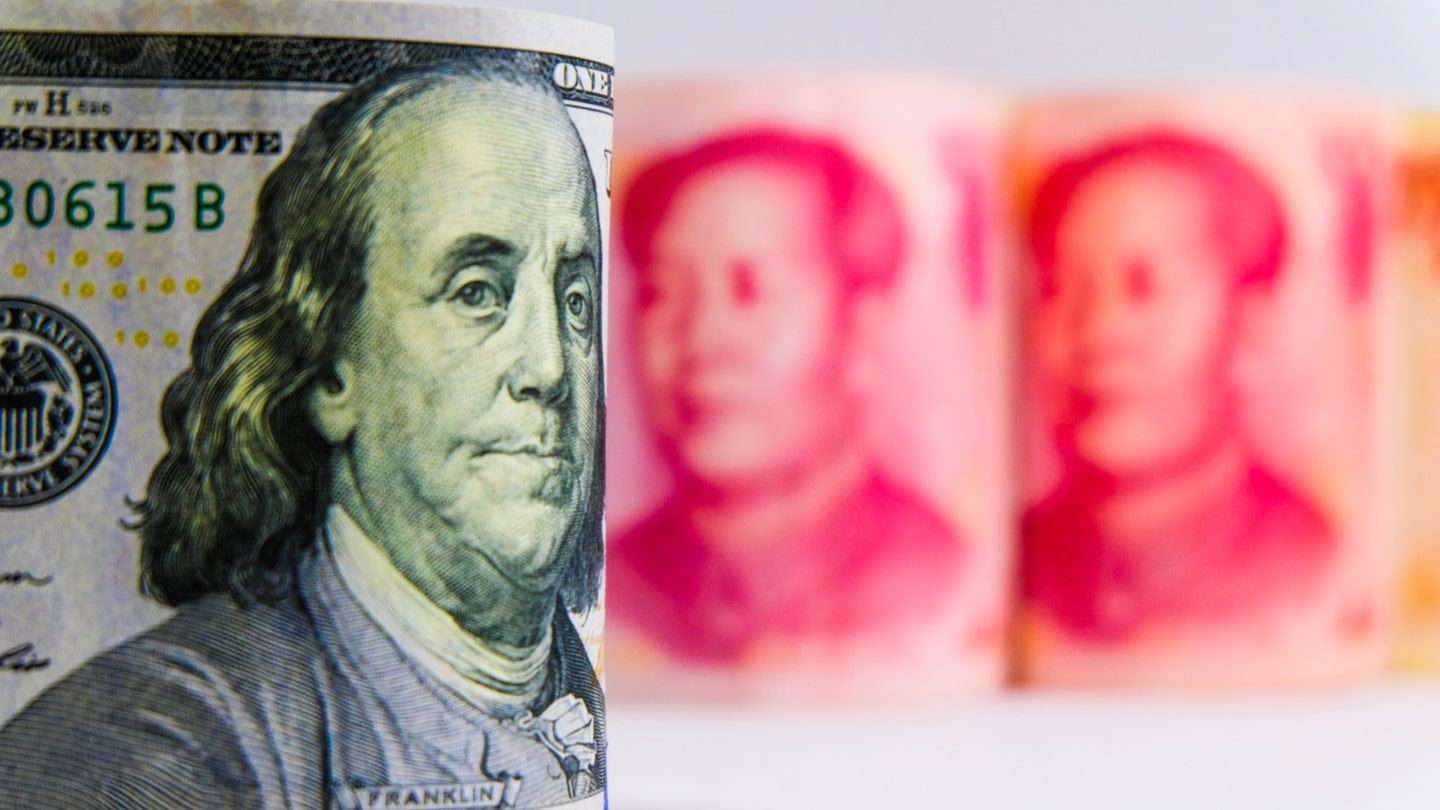 US dollar finds ground in the trade war with China