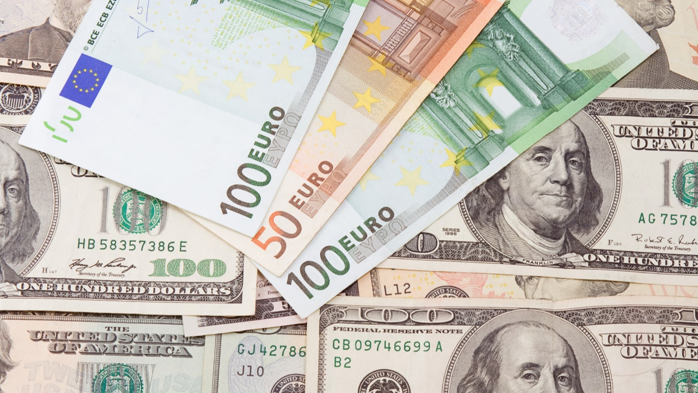 Euro to Dollar Currency Pair