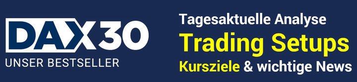 DAX Tägliche Analyse Updates für aktive Trader
