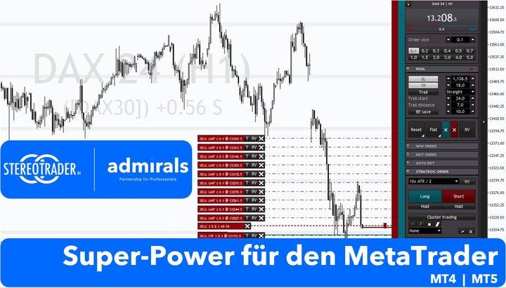Der StereoTrader für den MetaTrader, MT4 und MT5