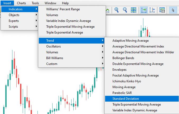 mis on volatiilsus?  standardhälve