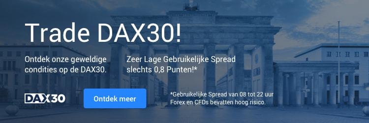 Open MT5 om te handelen met de Dax