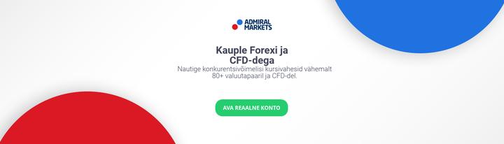 Kauple Forexi ja CFD-dega Nautige konkurentsivöimelisi kursivahesid vähemalt 80+ valuutapaaril ja CFD-del. AVA REAALNE KONTO