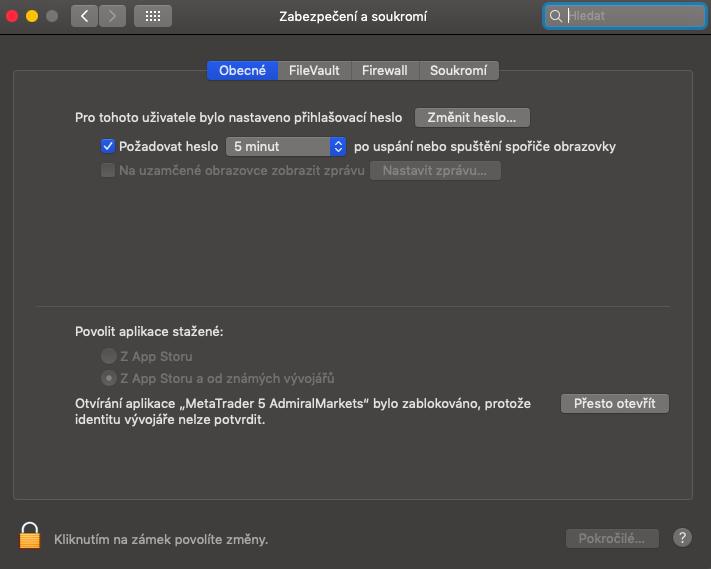 průvodce instalací MT5 na mac