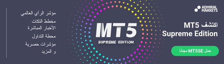 افتح حساب تداول مع منصة Metatrader 5