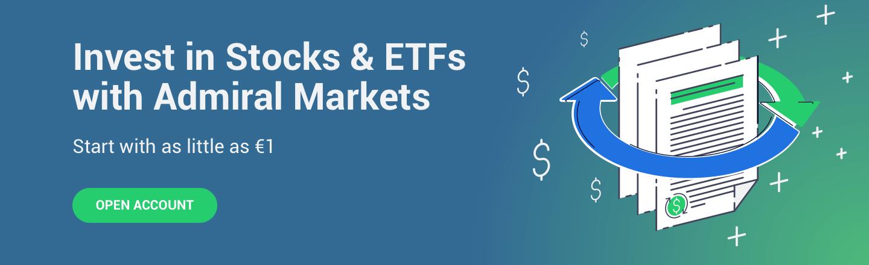 Investuokite į akcijas ir ETF