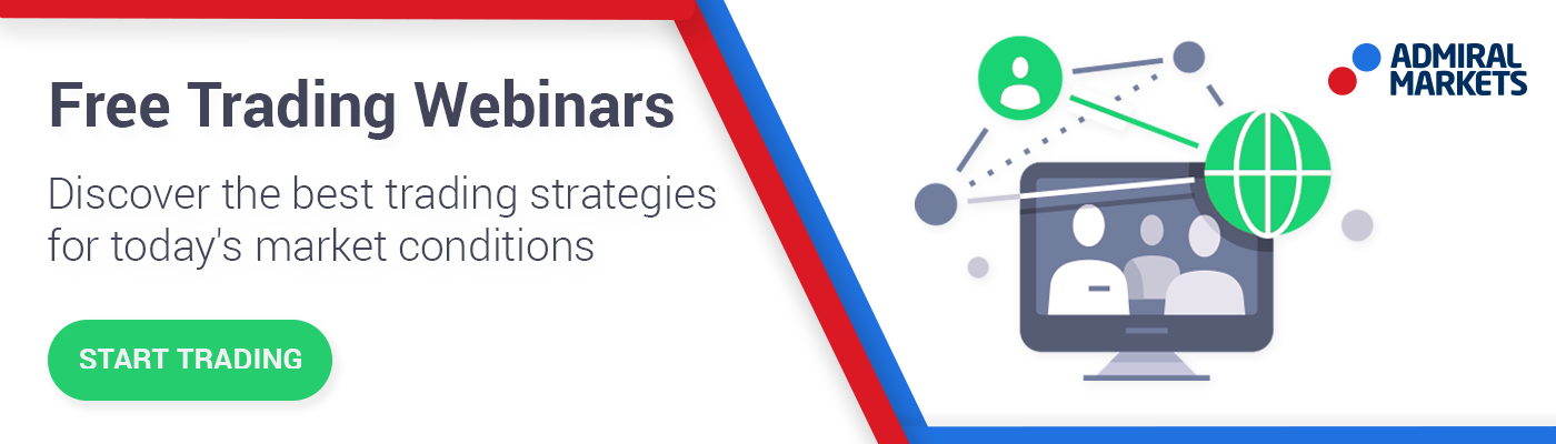 Attend Admiral Markets webinars to gain trading knowledge