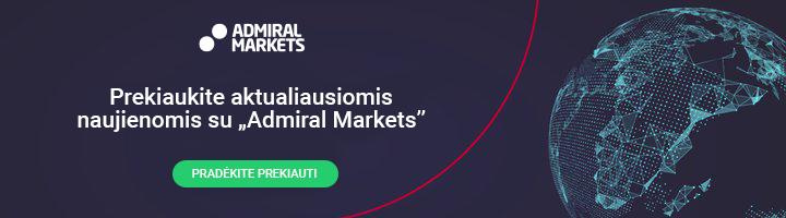 Prekiaukite aktualiausiomis naujienomis su Admiral Markets