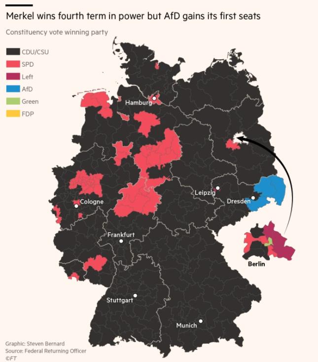 Wahlumfrage Bundestagswahl Direktwahl stärkste kraft
