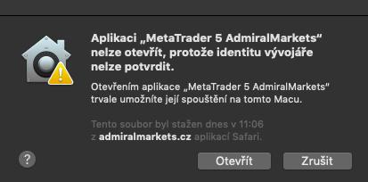 kroky instalace metatrader 5 na macbook