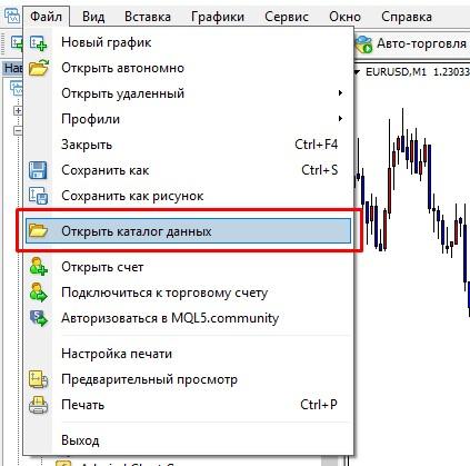 Как добавить загруженный индикатор в MetaTrader 4