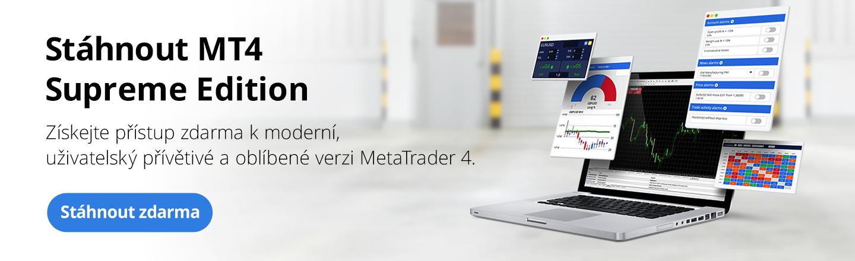Stáhnout MetaTrader 4 Supreme Edition