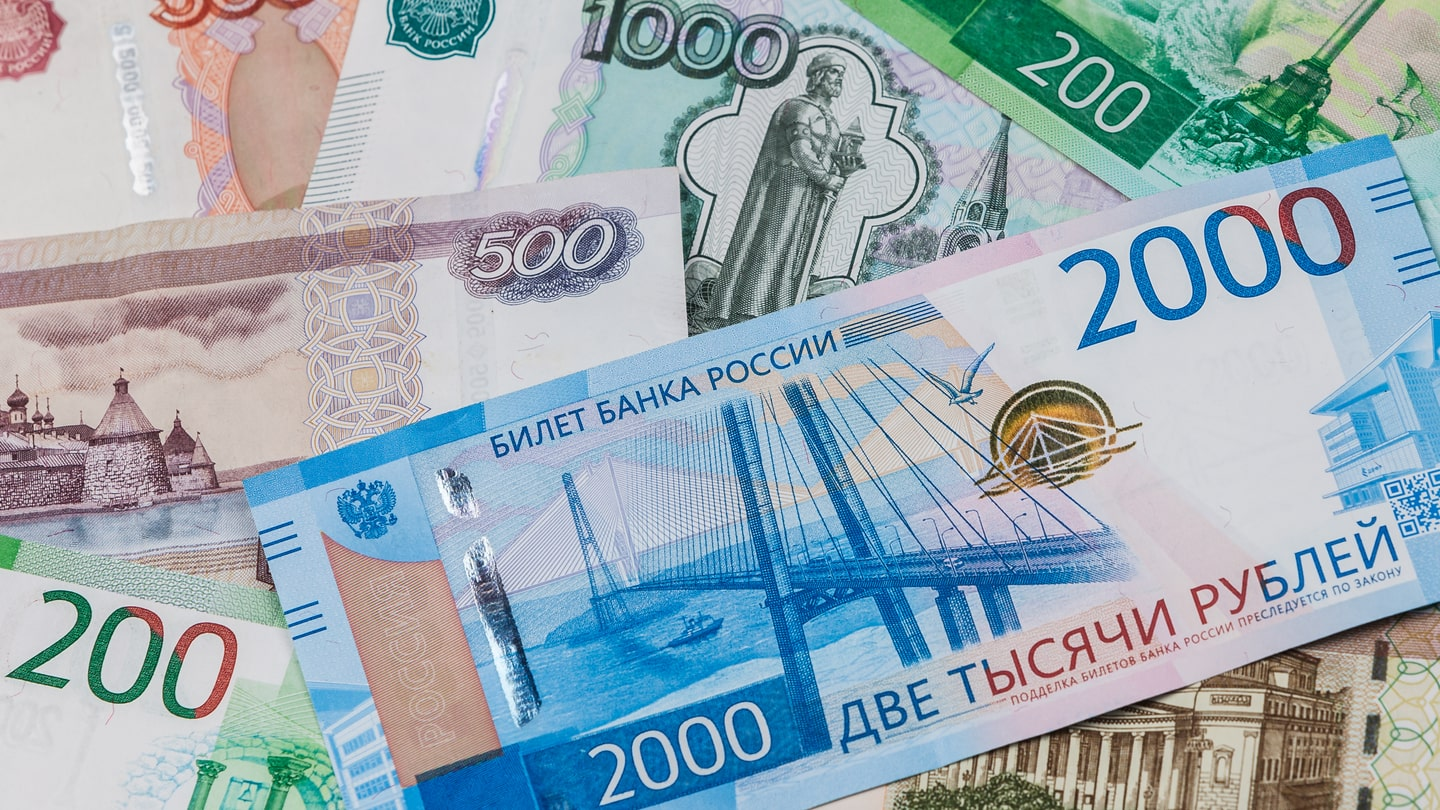 Russian Ruble Relationship