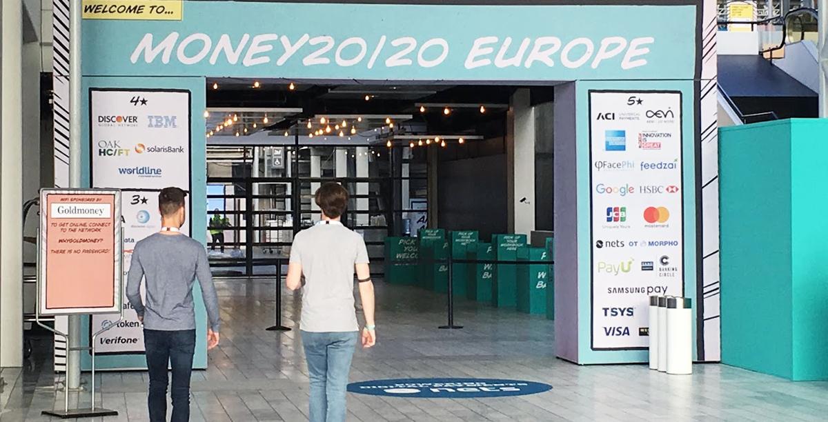 Money 20/20 Messe in Kopenhagen