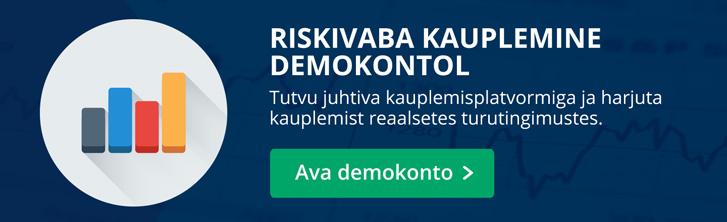 riskivaba kauplemine demokontol