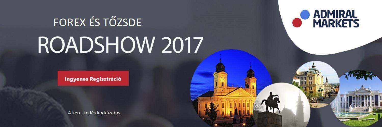 Forex és Tőzsde Roadshow 2017