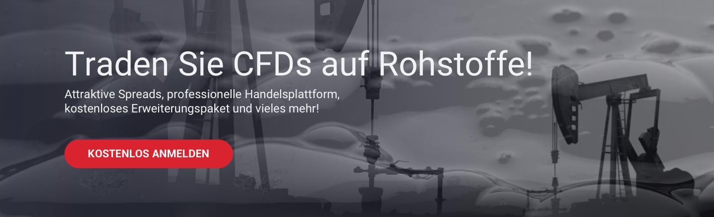 Mit Admiral Markets können Sie CFDs auf Rohstoffe wie Öl traden!