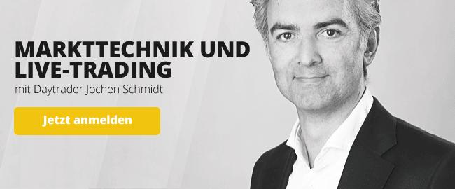 Kostenlose Live-Webinare zum Thema Forex und CFDs mit Daytrader Jochen Schmidt
