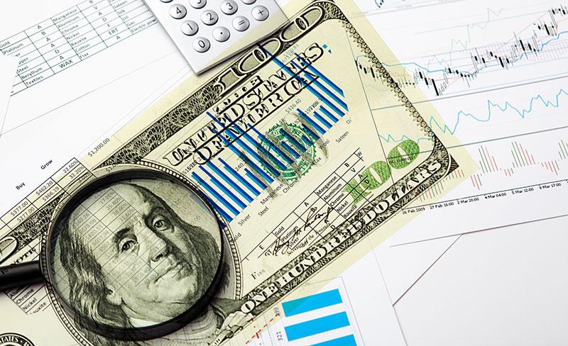 JAV doleris nuvertėjo iki 3 mėnesių žemumų