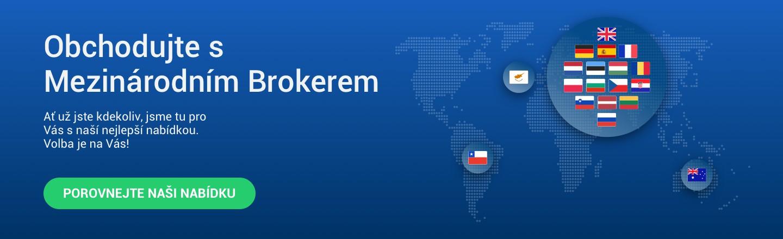 Obchodujte s Mezinárodním Brokerem