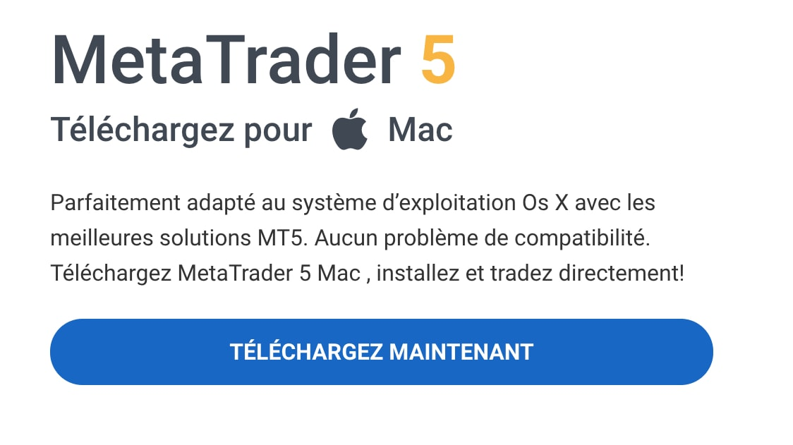 metatrader5 mac