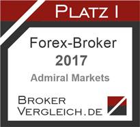 Bester Forex Broker Deutschlands 2017: Admiral Markets laut Brokervergleich.de