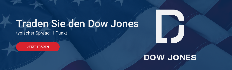 Handeln Sie CFDs auf dem Dow Jones bei Admiral Markets