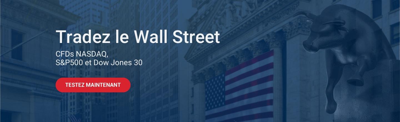 Prenez des positions short sur les marchés US