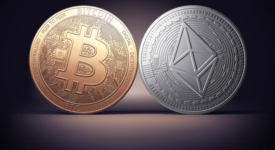 trading cryptomonnaies - bitcoin et ether