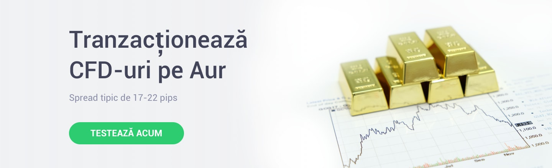 tranzactionare CFD-uri pe aur