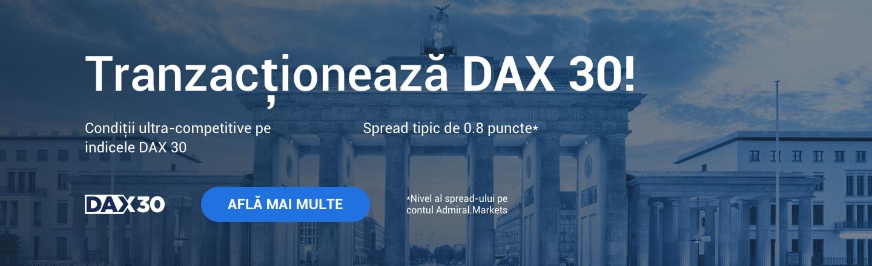 tranzactioneaza indicele bursier dax30