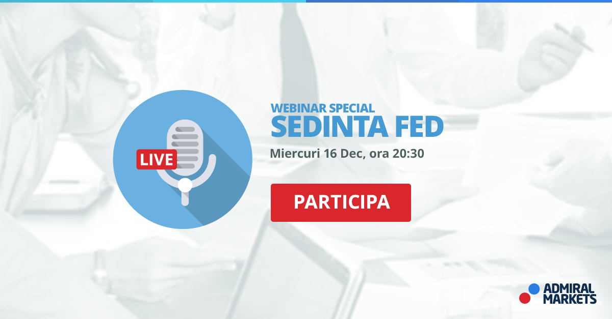sedinta FED, webinar forex