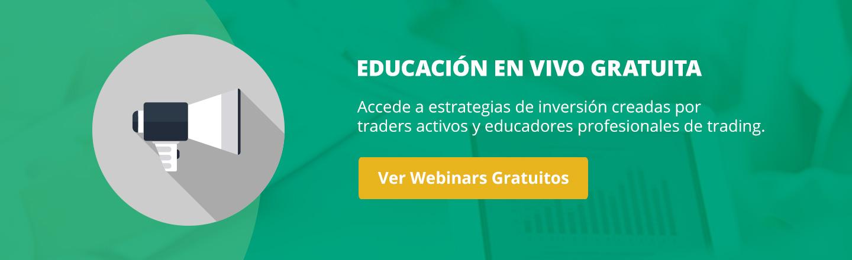 Webinars en vivo de Forex