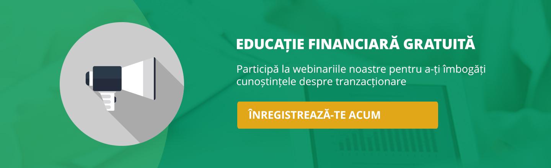 Webinarii live gratuite