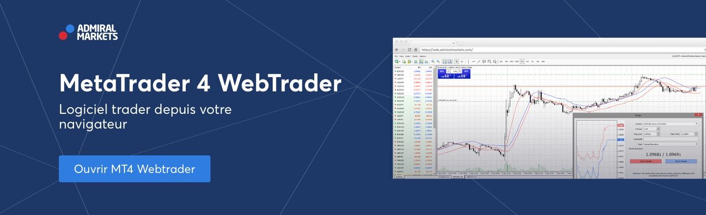 trader dans le navigateur avec metatrader webtrader