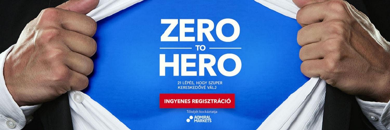 Regisztrálj a Zero To Hero oktatási anyagunkra!